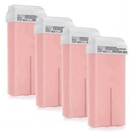 Depiluxe Harspatroon 80 ml - Titanium (TiO2) Roze - 24 stuks