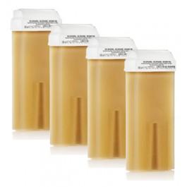 Depiluxe Harspatronen 100 ml Honing/Geel - per doos a 24 stuks