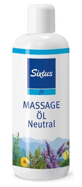 Sixtus Sport Massageolie Neutraal - 500 ml