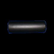 Massagerol - Rond Zwart - 45 breed, 14 hoog