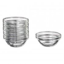 Mengschaaltje glas klein 6 cm