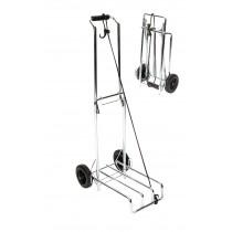 Inklapbare trolley - Verchroomd staal 40kg