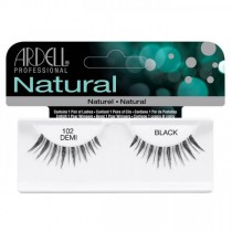 Ardell Natural Strip Lashes #102 Demi Black
