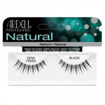 Ardell Natural Strip Lashes Invisibands Demi Pixies Black