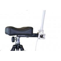 Loeplamp bevestiging voor beensteun
