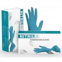Praktivak Budget Handschoenen Nitrile PV Blauw - overdoos van 10 pakjes á 100st.