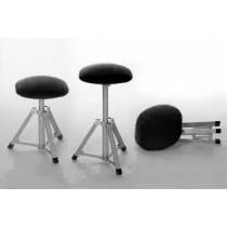 Ambulante Werkstoel Zwart (met gasveer)