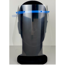 VISOR-SHIELD (type B) gezicht scherm (set: montuur + scherm)