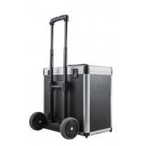 Kofferkarretje met Grote rubberen wielen (excl. koffer) voor D of E