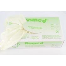 Romed SOFT+ Latexvrije Licht gepoederde handschoenen
