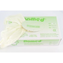 Romed SOFT+ Latexvrije Licht gepoederde handschoenen - 5 DOOSJES