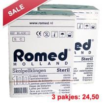 Eco Scalpelmesjes (steriel) - pakjes à 100 st