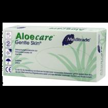Aloe Care Latex Poedervrije handschoenen met Aloe Vera