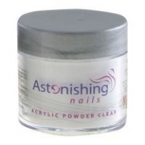 Astonishing Nails Acryl Poeder Clear 25gr - 100gr - 165gr - 250gr