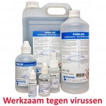 Podilon desinfectie vloeistof - 10ml - 30ml - 250ml - 1000ml - 5000ml