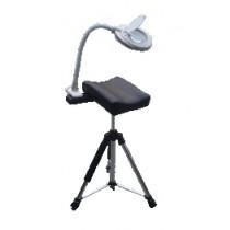 Prima beensteun met steun en flexibel lampje