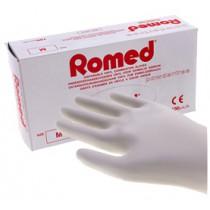 Romed Vinyl Poedervrije handschoenen - Overdoos met 10 pakjes a 100 st.