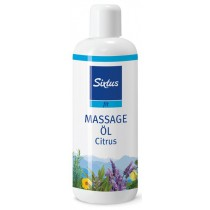 Sixtus Sport Massageolie Citroen - 500 ml