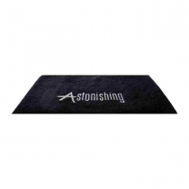 Astonishing Black Towel met logo
